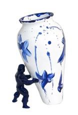 "Modern design vase ""My superhero"""