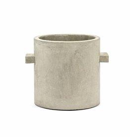 "Planter ""Kiko"" grey 20 cm"