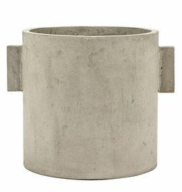 "Planter ""Kiko"" grey 30 cm"