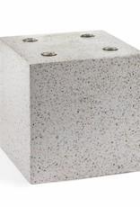 """Terrazzo design vase """"Cube"""""""