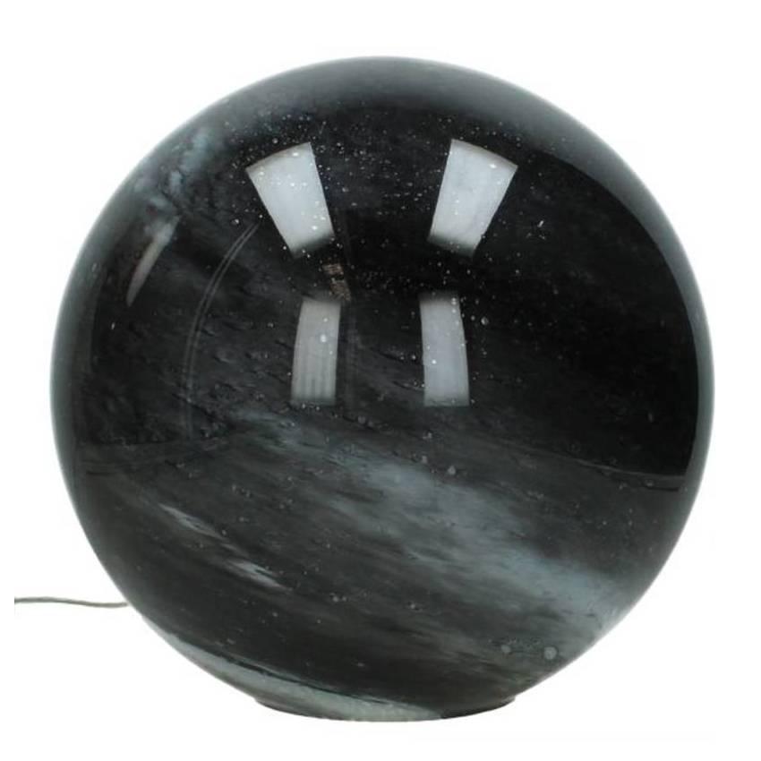 """Tafellamp van gemarmerd glas """"Moon"""""""