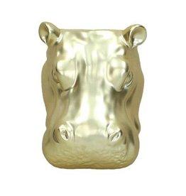 Hippo wall vase