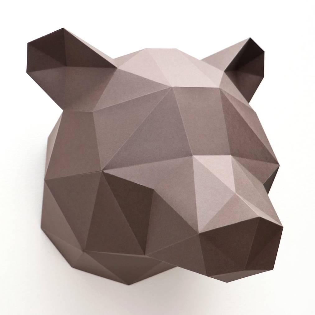 Paper Bear / Brown