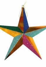 Aparte kersthanger in de vorm van een ster