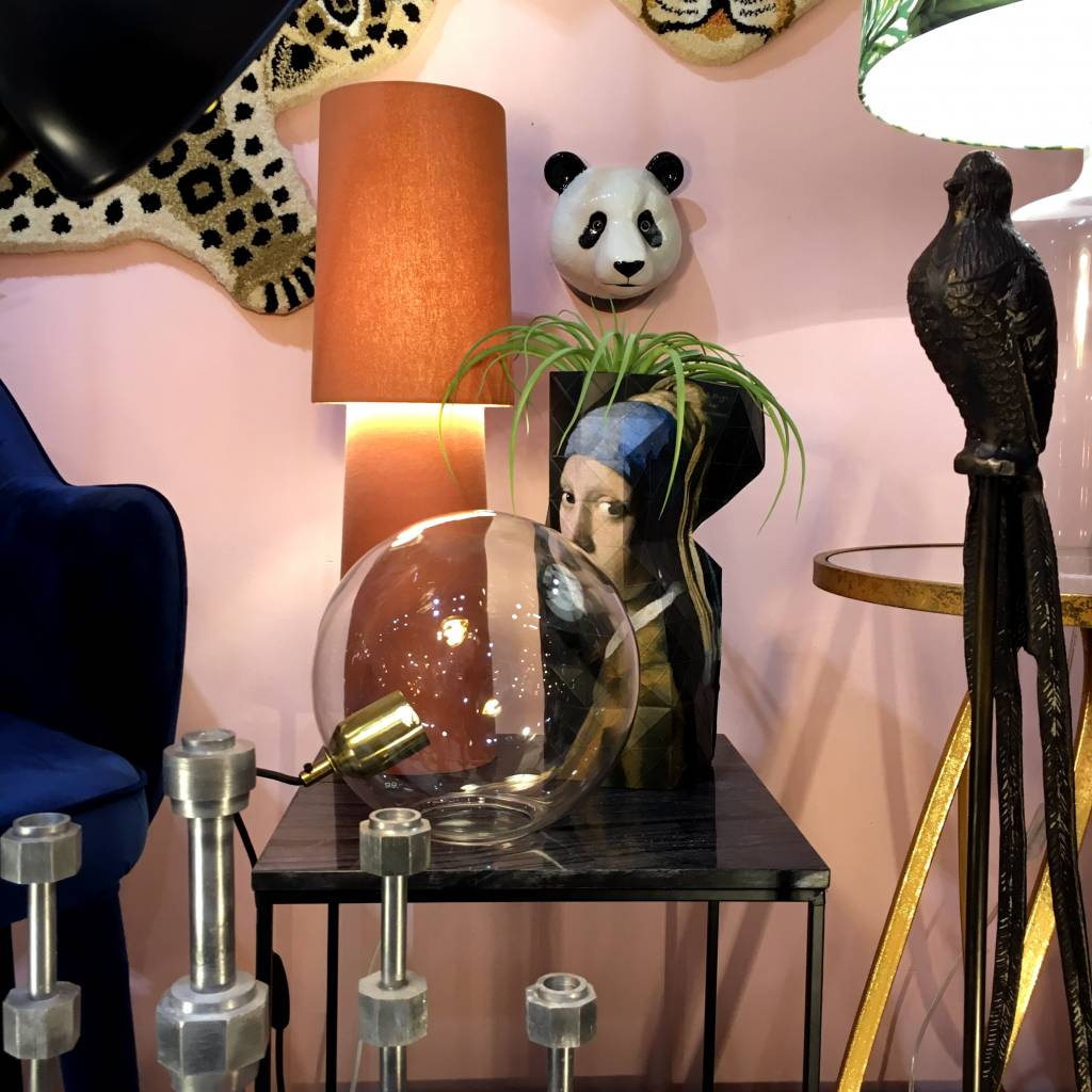 "Glass table lamp ""Jonas"""