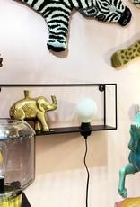Wandplank Met Lamp.Wandplank Met Lamp