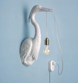 Vogel Wandlamp / Wit