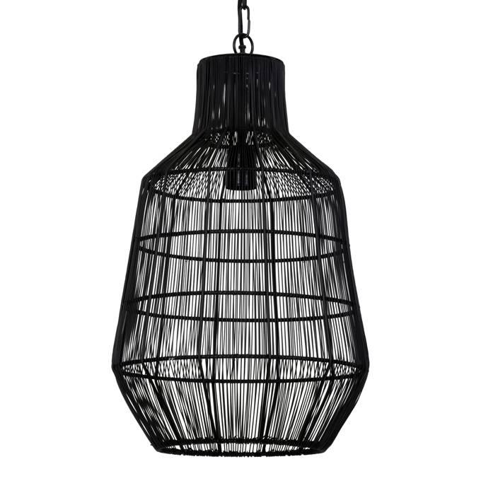 "Zwart metalen design hanglamp ""Kito"""
