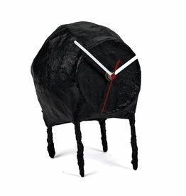 Paper Pulp Clock / Black