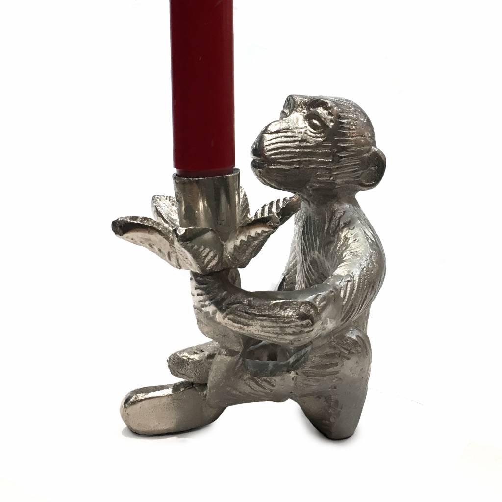 Kandelaar in de vorm van een aap