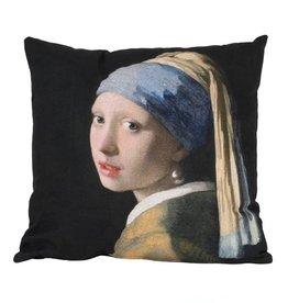 Cushion / Girl with the pearl earring