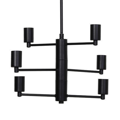"Design hanglamp ""Ceza"" mat zwart"