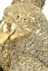 Goud look kandelaar in de vorm van een papegaai