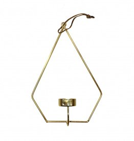 Wall tealight holder