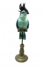 Cockatoo decor figurine