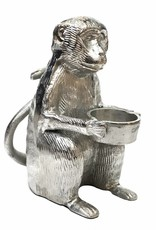 Metal monkey tealight holder