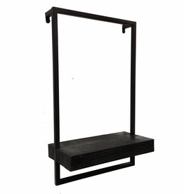 Shelve with frame