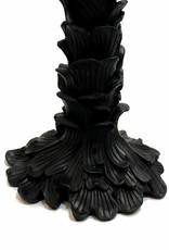 Black palm candlestick