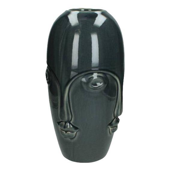 Vaas in de vorm van een hoofd