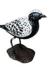 Houten vogel beeld van een kievit