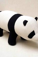 Crochet panda decoration