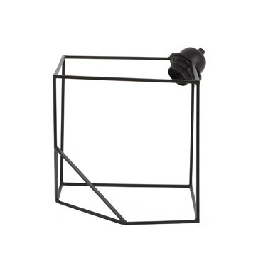 "Metal design table lamp ""Cube"""