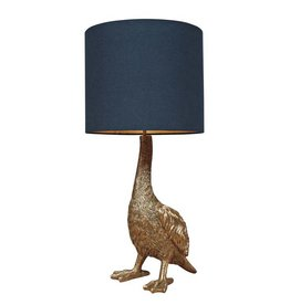 Goose table lamp