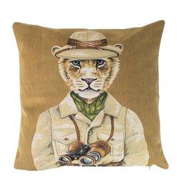 Sierkussen / Safari Leeuw
