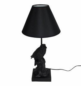 Crow bird lamp / Black