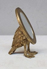 Goud vogel spiegeltje