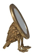 Gold bird mirror