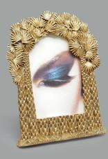 Gouden fotolijst met palm decoratie