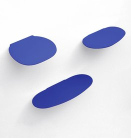 Wandplankje keramiek / M / Blauw