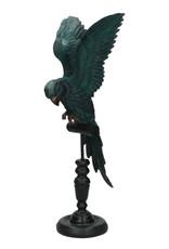 Papegaai decoratie beeld