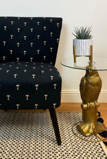 Gold parrot table