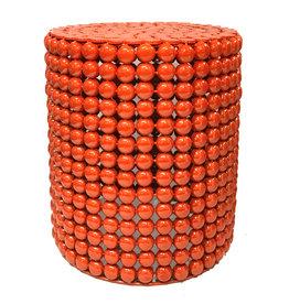 Orange side table