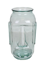 "Design vaas van glas ""Moai"""