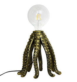 Octopus Lamp / Gold