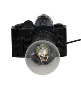 Camera Lamp / Zwart