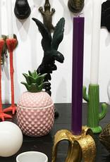 Ceramic cactus candlestick