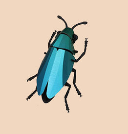 Paper Jewel Beetle / Green