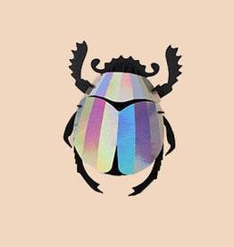 Paper Scarab Beetle / Rainbow