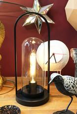 Papegaai bijzettafel in goud look