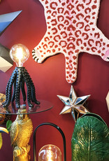 Black octopus table lamp