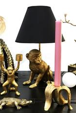 Octopus lamp met goud finish