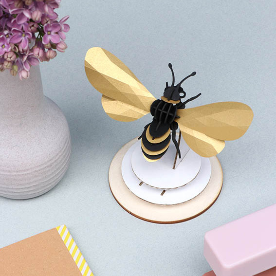 Honey bee papercraft assemble kit