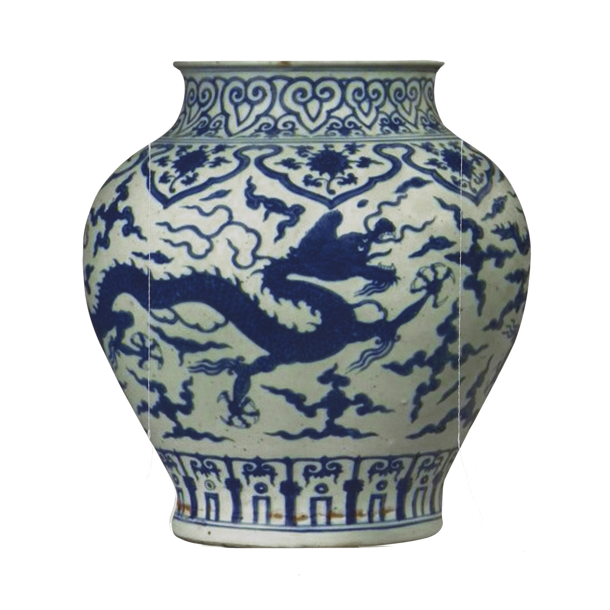 Paper Chinese vase