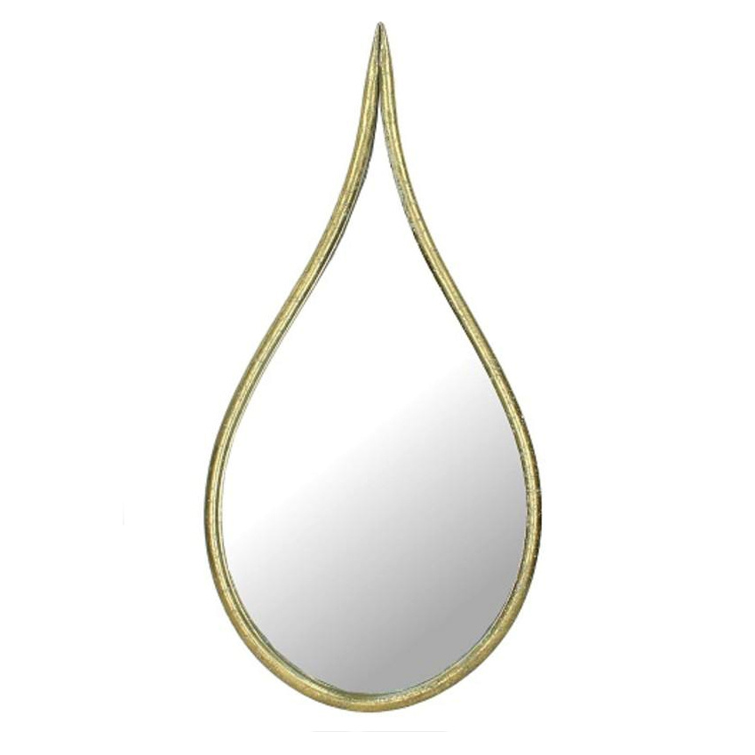 Gold  drop mirror