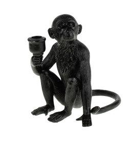 Zwarte aap kandelaar
