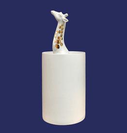 Vaas met giraffe